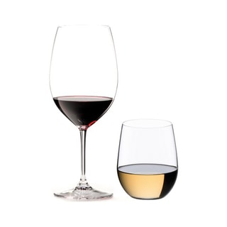 Riedel 8-Piece Vinum Bordeaux and O Viognier Glassware Set (54169)