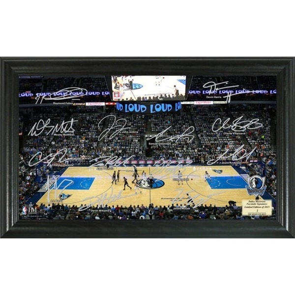 Dallas Mavericks Signature Court