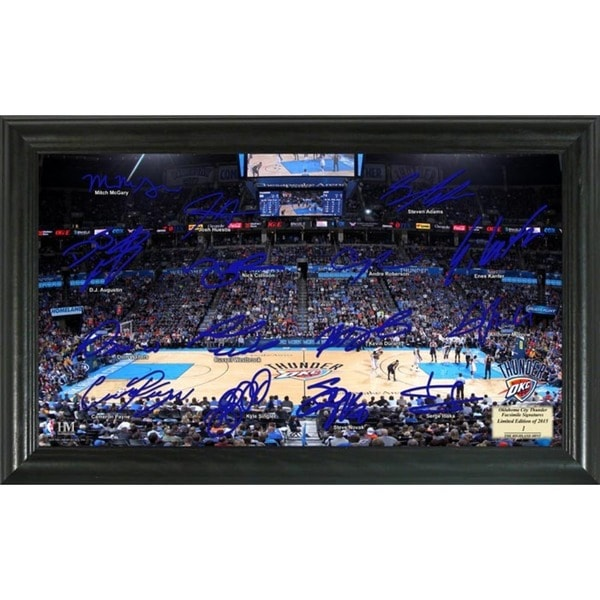 Oklahoma City Thunder Signature Court