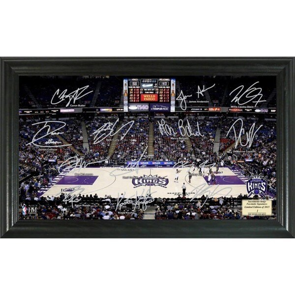 Sacramento Kings Signature Court