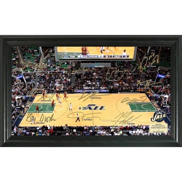 Utah Jazz Signature Court