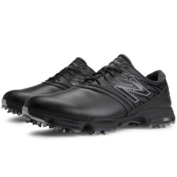 New Balance Mens NBG2001 Black Golf Shoes