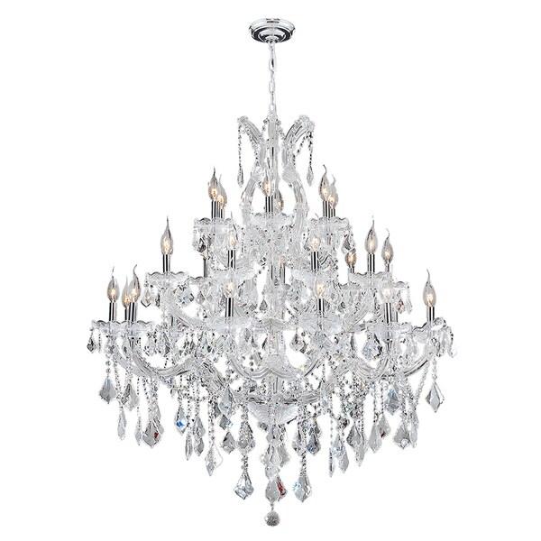 Maria Theresa Eight Light Chrome Finish Victorian Grand