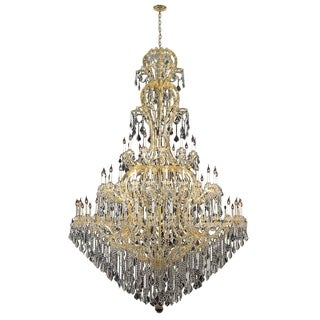 Maria Theresa 72 light Gold Finish Crystal Victorian Chandelier Three 3 Tier Extra Large