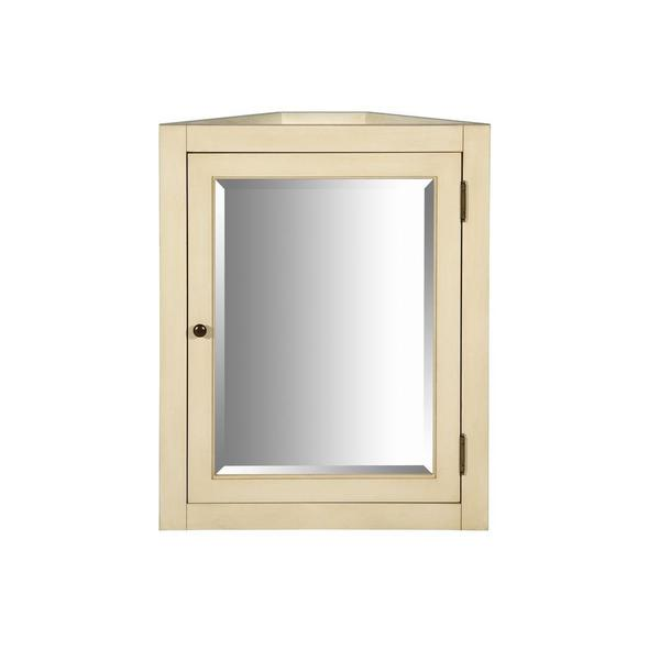 20 inch x 26 inch recessed or surface mount mirrored medicine cabinet