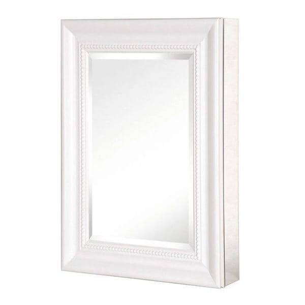 15 inch x 26 inch recessed or surface mount mirrored medicine cabinet