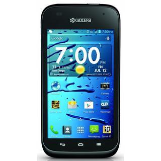 Kyocera Hydro Edge C5215 Sprint Locked CDMA Android Cell Phone - Black