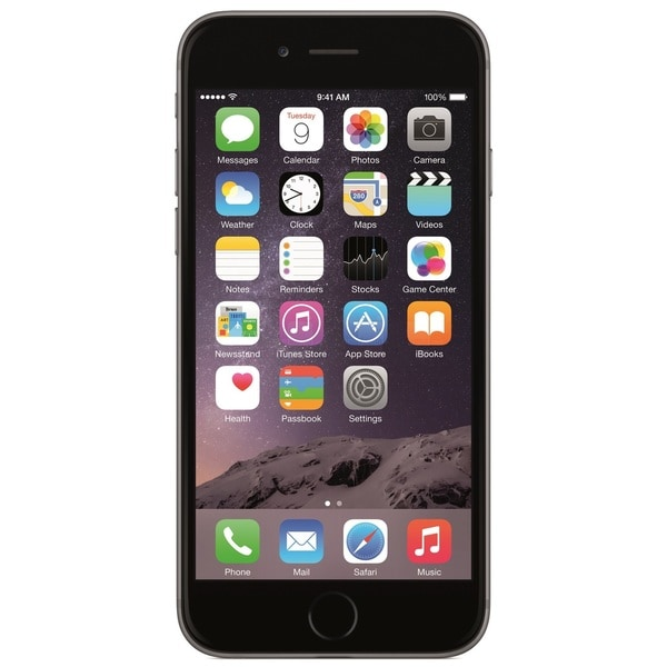 Apple iPhone 6 64GB Unlocked GSM 4G LTE Certified Refurbished Cell Phone - Space Gray