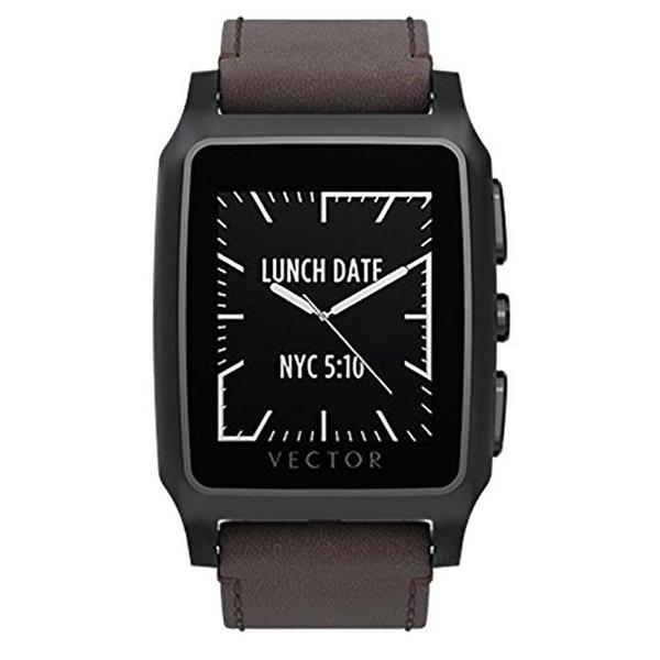 Vector Meridian Brushed Smart Watch - Retail Packaging