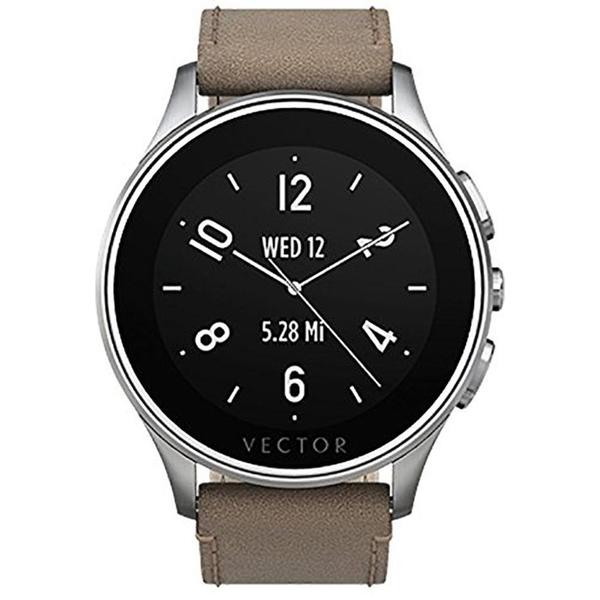 Vector Luna Brushed Smart Watch - Retail Packaging