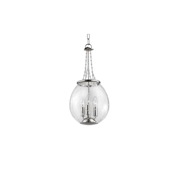 Hudson Valley Pierce 8 Light Nickel Pendant