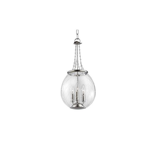Hudson Valley Pierce 8 Light Nickel Pendant