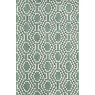 Labyrinth Hand-Tufted Rug (8'x10')