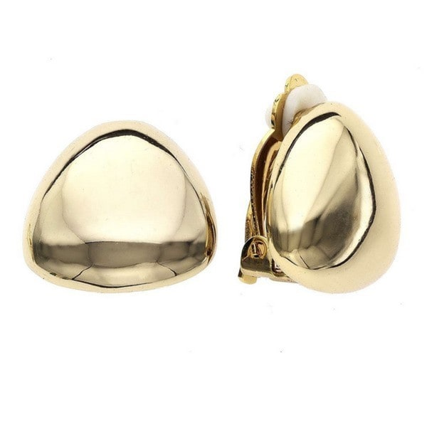 Isla Simone - Gold or Rhodium Plated Clip Earring