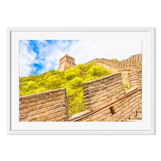 The Great Wall of China Print on Paper Framed Print