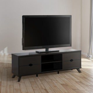 Furniture of America Deons Modern Cappuccino 4-drawer TV Console
