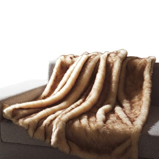 Faux Fur Animal Throw