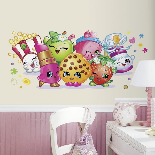 Shopkins Burst Peel and Stick Giant Wall Decals 16658188