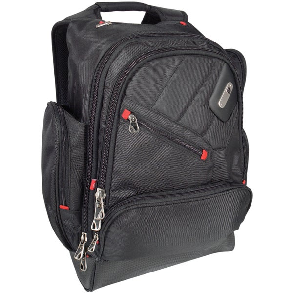 Ful Refugee Black 15-inch Laptop Backpack