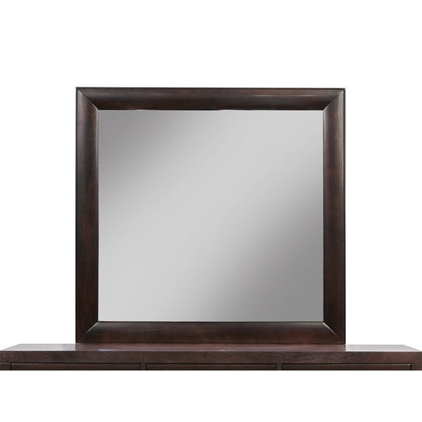 Somette Havelock Espresso Mirror