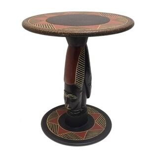 Handmade Zulu Queen Arts Table (Ghana)