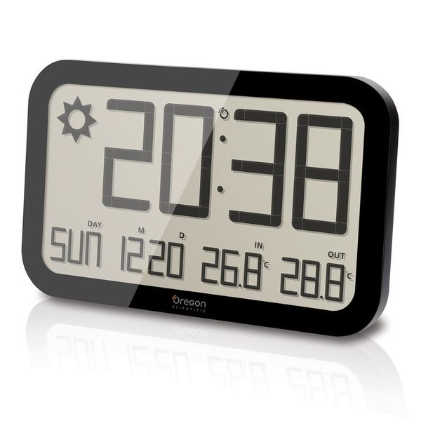 Oregon Scientific Jumbo Weather Wall Clock