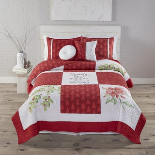 Kathy Davis Beauty of the Season 3-piece Quilt Set