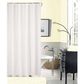Palace Linens Montreal Plaid Fabric Shower Curtain