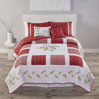 Kathy Davis Joy Reversible 3-piece Quilt Set