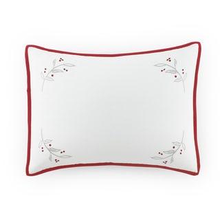 Kathy Davis Holiday Berries Breakfast Throw Pillow