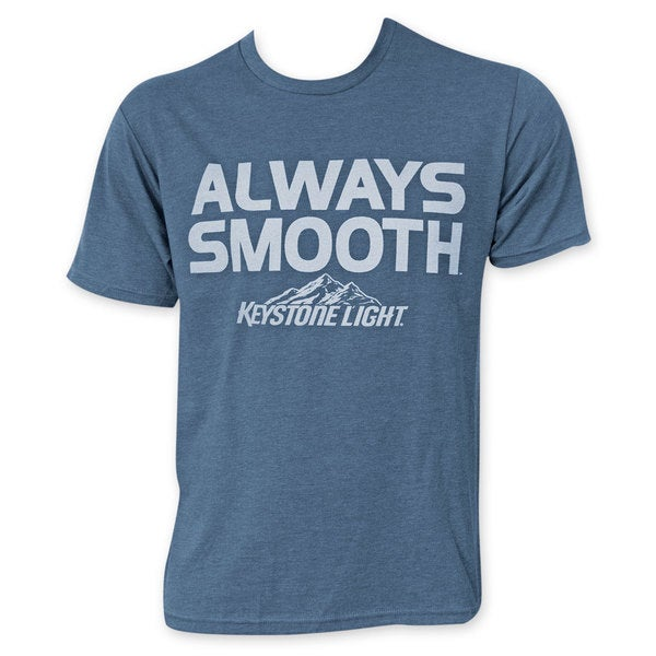 Keystone Light Blue Men's Always Smooth T-Shirt