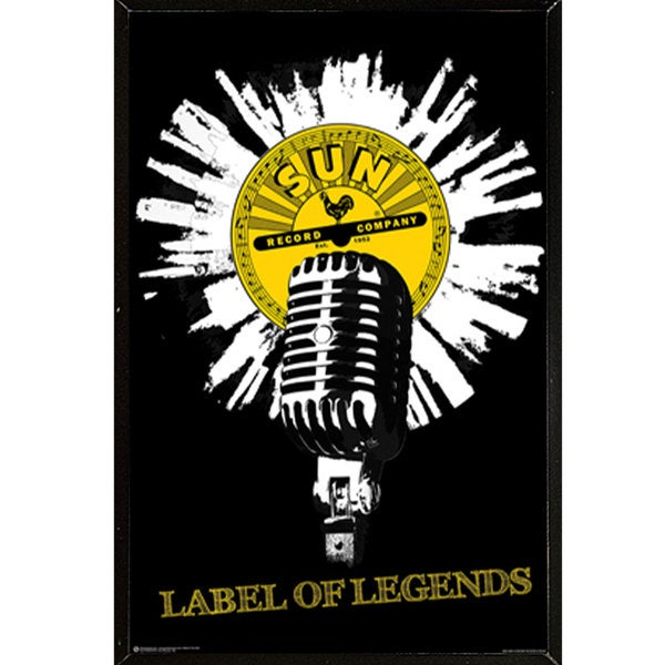 Sun Records (24-inch x 36-inch) Wall Plaque