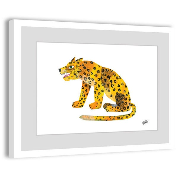 """Marmont Hill - """"ABC Jaguar"""" by Eric Carle Painting on Framed Print"""