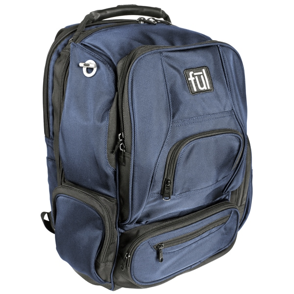 Ful Upload Navy 17-inch Laptop Backpack