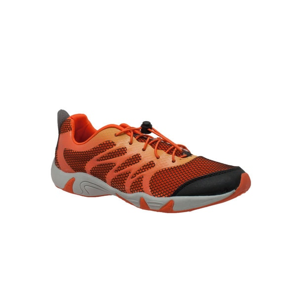 Rocsoc Men's Orange/ Black Athletic Shoe