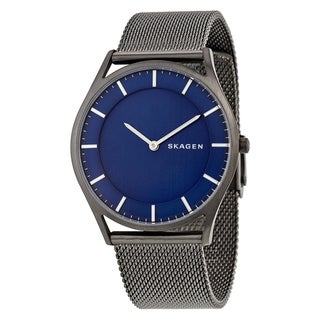Skagen Men's SKW6223 'Holst Slim' Black Stainless Steel Watch