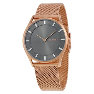 Skagen Women's SKW2378 'Holst Slim' Rose-Tone Stainless Steel Watch