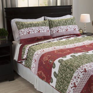 Windsor Home Breanna Cotton 3-piece Quilt Set