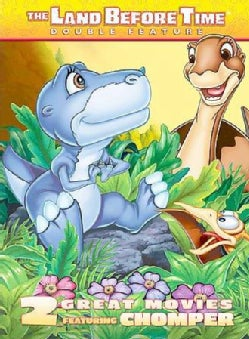 The Land Before Time Chomper Double Feature: The Land Before Time 2 The Great Valley Adventure/The Land Before Time 5: ... (DVD)