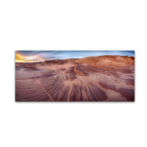 Moises Levy 'The Great Wall' Canvas Wall Art
