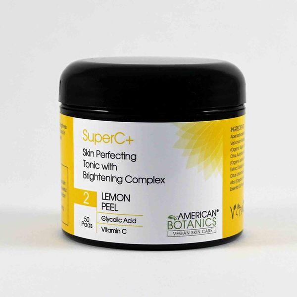 American Botanics SuperC Skin Perfecting Brightening Skin Pads
