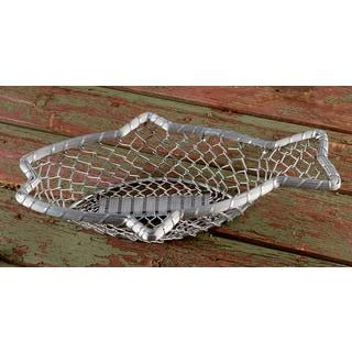 "16"" Chain-Link Metal Fish Basket"