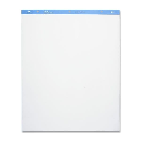 Sparco Standard Easel Pad - (2 Per Carton)