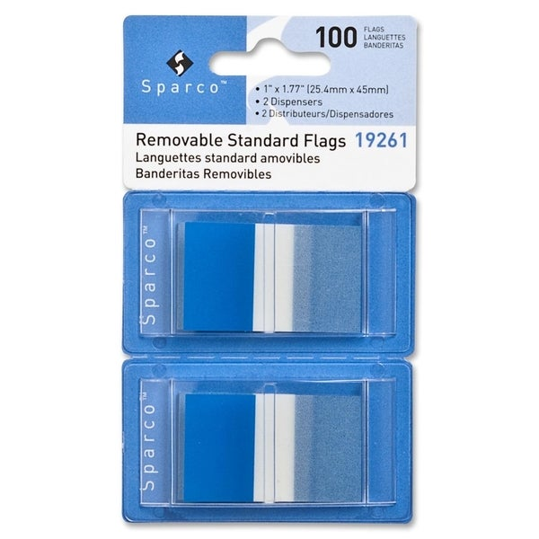 Sparco Removable Flag - (100 Per Pack)