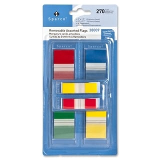 Sparco Removable Flag Combo Pack - (270 Per Pack)