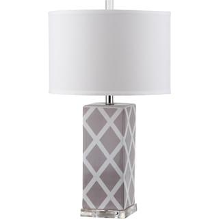 Safavieh Garden Lattice Grey Table Lamp