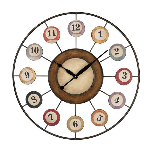 8 Ball Wall Clock