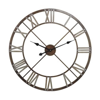 Open Center Iron Wall Clock