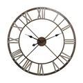 Open Center Iron Wall Clock