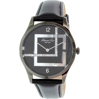 Kenneth Cole Women's KC2876 Black Leather Quartz Watch